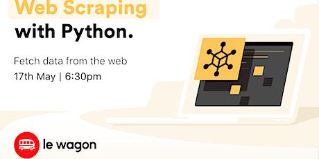 [Free workshop] Python Web Scraping entradas