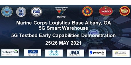 MCLB Albany 5G Enabled Smart Warehouse Early Capabilities Demonstration tickets