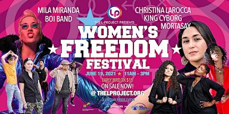 Women's Freedom Festival tickets