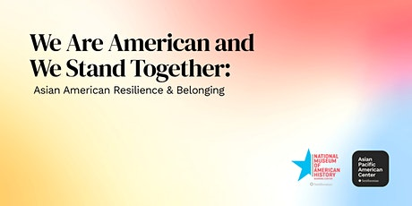 Program: We Are American and We Stand Together tickets
