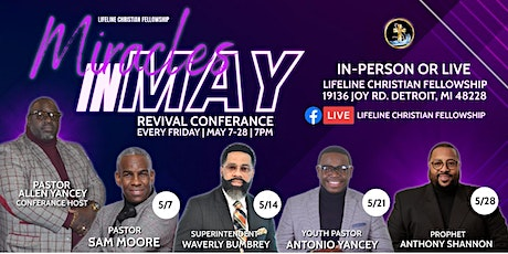 Miracles in May Conference tickets