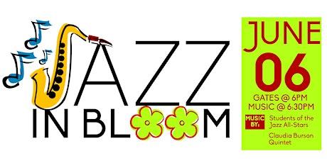 NWA Jazz Society presents JAZZ IN BLOOM tickets