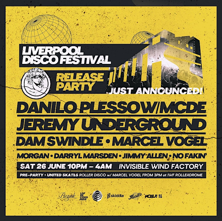 Liverpool Disco Festival - Release Party image