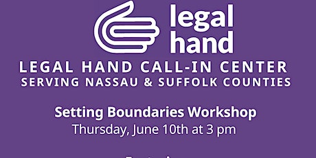 Know Your Rights Workshop - Setting Boundaries tickets