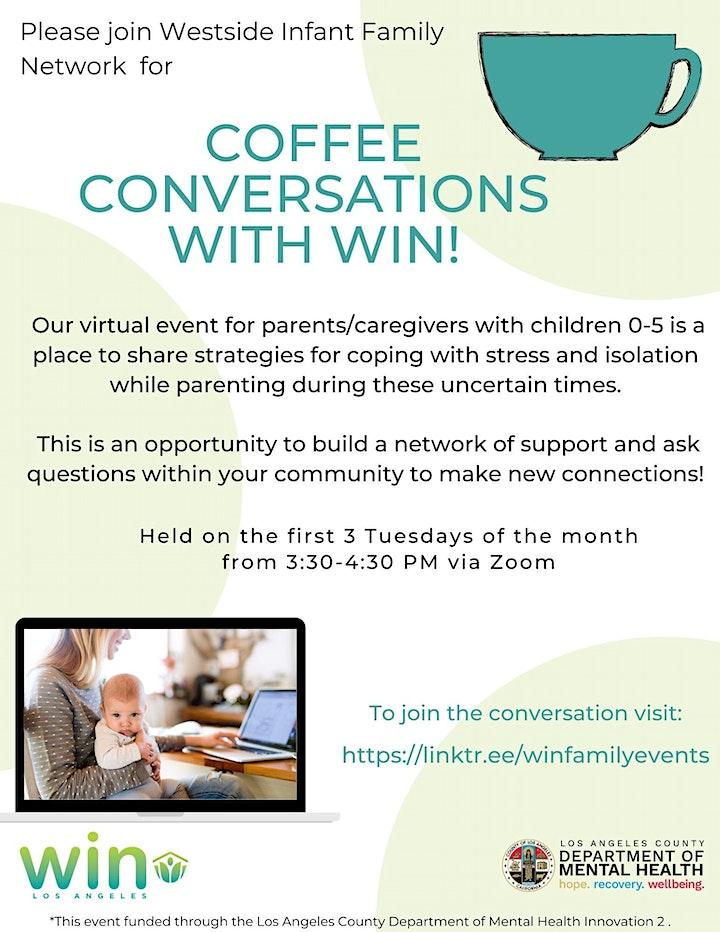 Coffee Conversations / Conversaciones de Café image