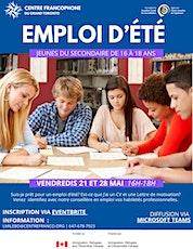 Atelier de préparation à la recherche d'emploi billets