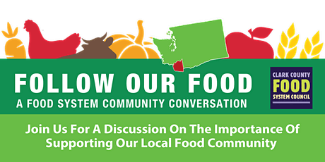 FOLLOW OUR FOOD •The Importance Of Supporting Our Local Food Community tickets