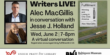 Writers LIVE! Alec MacGillis, Fulfillment: Winning and Losing in One-Click tickets