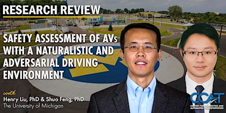 Assessment of AVs with a Naturalistic and Adversarial Driving Environment tickets