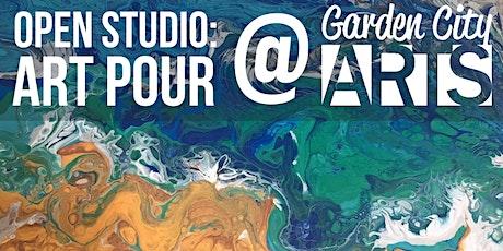 Open Studio: Art Pour in July tickets