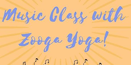 Zooga Yoga Music Class / Clase De Musica De Zooga Yoga tickets