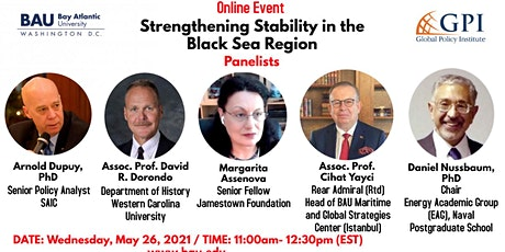 Strengthening Stability in the Black Sea Region tickets