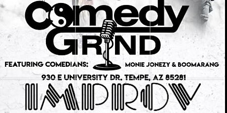The Comedy Grind @Tempe Improv tickets