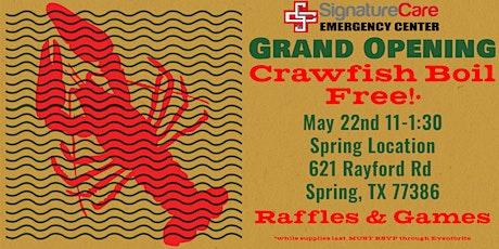 SignatureCare Grand Opening  Community Event - FREE CRAWFISH tickets