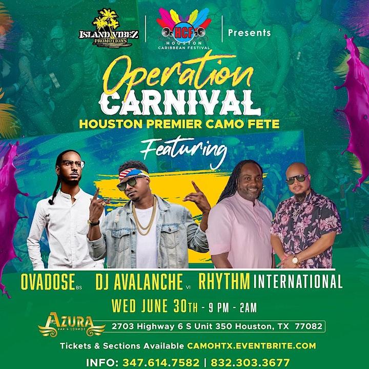 Operation Carnival - Houston Premier CAMO FETE image