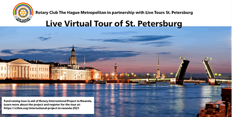 Live Tour of St. Petersburg tickets