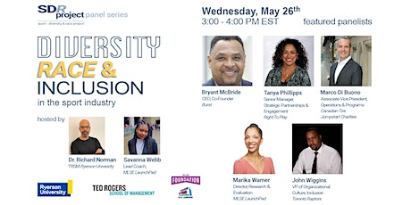 Diversity, Race, & Inclusion in the Sport Industry tickets