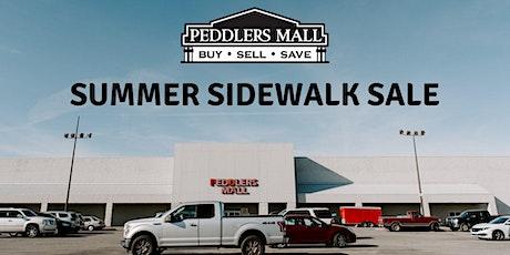 Summer Sidewalk Sale tickets
