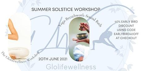 Yoga/Breath/Sound Summer Solstice Workshop tickets