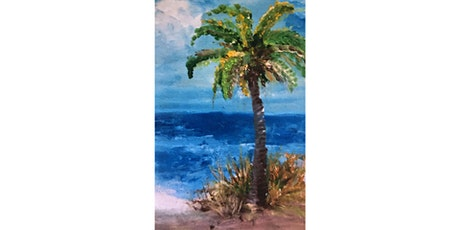 Beach and Palm Painting Fun tickets