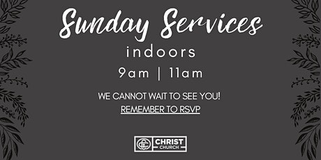 RSVP May 16th @ 9:00AM  -Christ Church Sunday Worship Service tickets