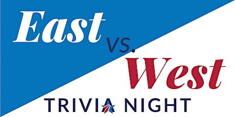 BSF First Friday - East vs. West Trivia Night tickets
