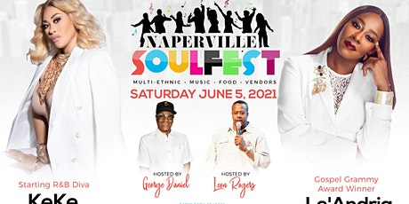 NAPERVILLE SOULFEST 2021 tickets
