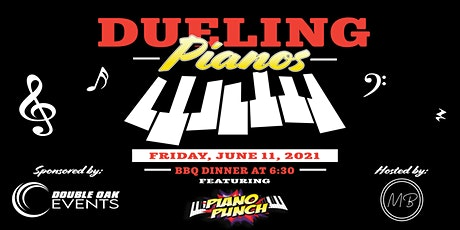 Shake, Rattle and Roll! It's Dueling Pianos with Piano Punch tickets