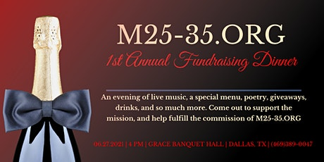 1st Annual Fundraising Dinner tickets