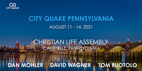 City Quake Pennsylvania with Dan Mohler, David Wagner and Tom Ruotolo tickets