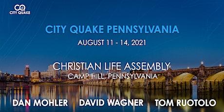City Quake Pennsylvania with Dan Mohler, David Wagner and Tom Ruotolo tickets