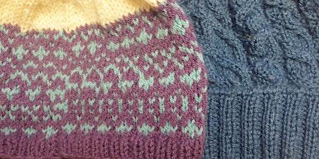 Beginners Hand Knitting tickets