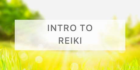 Introduction to Reiki tickets