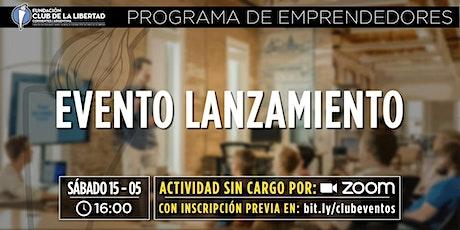 CLUB DE LIBERTAD - LANZAMIENTO PROGRAMA DE EMPRENDEDORES entradas