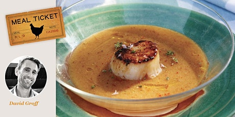 MealticketSF's Private Live Cooking Class  - Seared Scallops & Gazpacho tickets