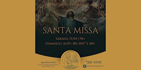 Ascensão do Senhor | Santa Missa, Domingo, 18h ingressos