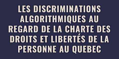 Discriminations algorithmiques et Charte des droits et libertés du Quebec tickets