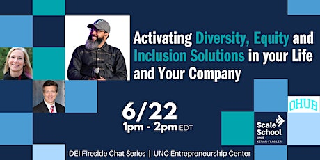 Activating Diversity, Equity and Inclusion in Life and in Your Company tickets