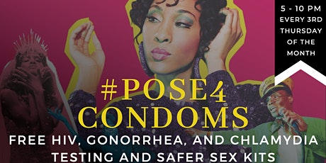 #pose4condoms tickets