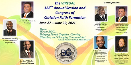 The Virtual 122nd Annual Session and Congress of Christian Faith Formation tickets