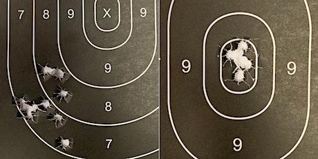 Introduction to Handgun Marksmanship and Gun Handling tickets