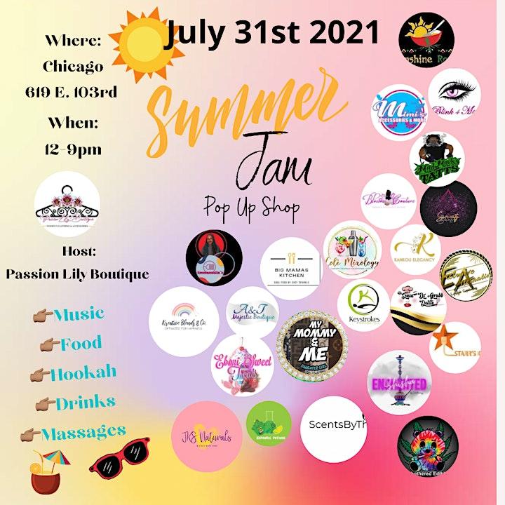 Summer Jam Pop Up Shop image