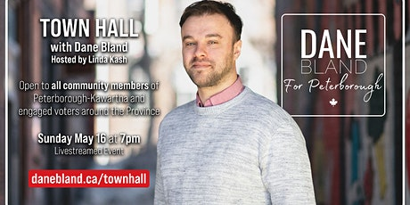 Town Hall with Dane Bland, Hosted by Linda Kash tickets