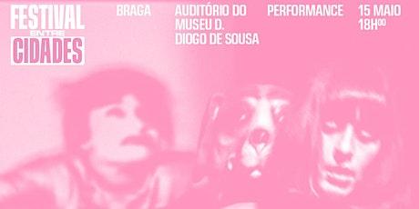 Festival Entre Cidades — Gabriela Barros bilhetes
