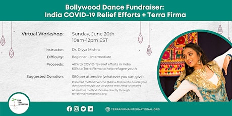 Bollywood Dance Fundraiser for Terra Firma and India COVID-relief tickets