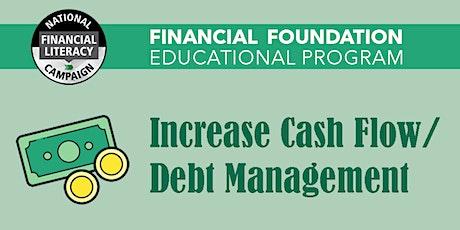 Increase Cash Flow & Debt Management tickets
