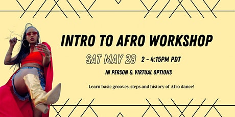 Intro to Afro Workshop tickets