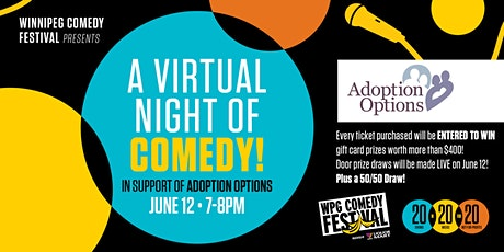 A Virtual Night of Comedy! In Support of Adoption Options tickets