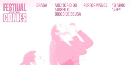 Festival Entre Cidades — Carolina Vieira bilhetes
