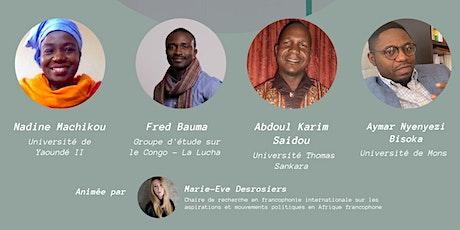Élections en Afrique francophone : état des lieux et perspectives billets